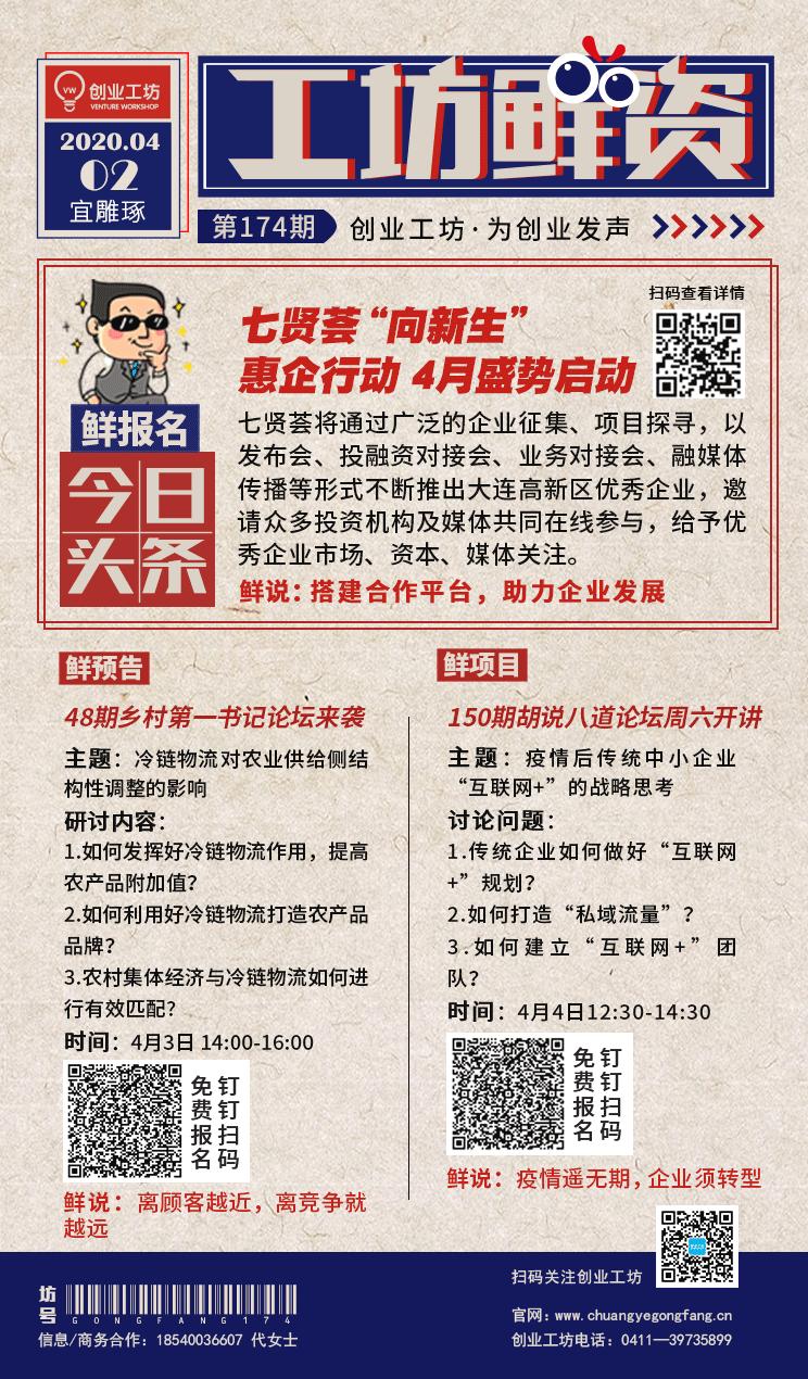 """【工坊""""鲜""""资】第174期 - 创业工坊"""