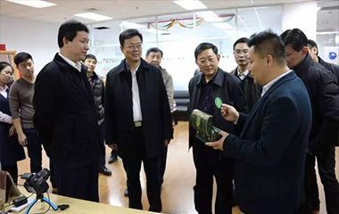 辽宁省科技厅于言良厅长一行调研创业工坊并给予高度肯定 - 创业工坊